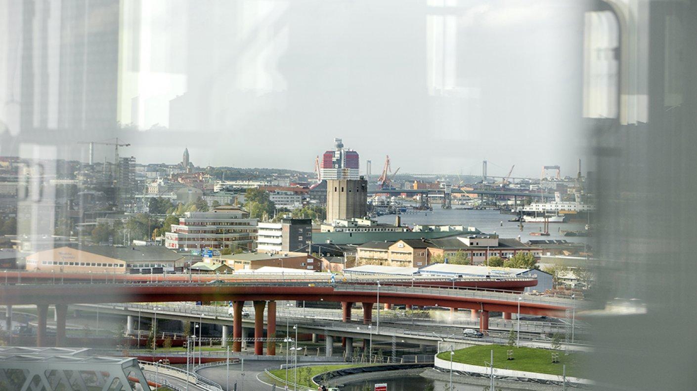 Gamlestads torg_utsikt mot Göteborg_ Platzer Fastigheter
