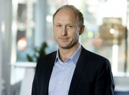 Henrik Esgård, projektledare på Platzer Fastigheter