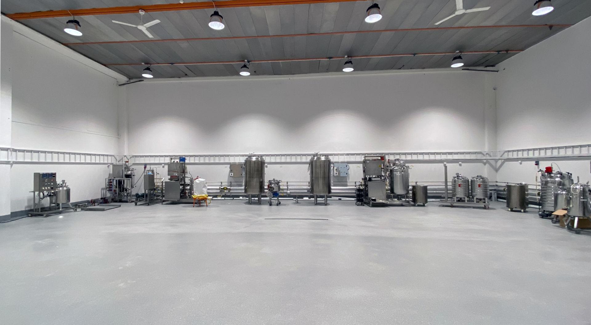 Den nya lokalen är anpassad efter Mycorenas verksamhet och innefattar både kontor, labb, testkök och produktion.